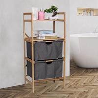 Huismerk Premium Multifunctionele Badkamer Plank - 42,3 x 33 x 96cm