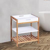 Huismerk Premium Multifunctioneel Bamboe Rek - 40 x 30 x 50 cm