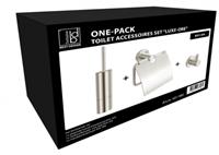 Best Design Luxe-Ore toilet accessoires set RVS geborsteld
