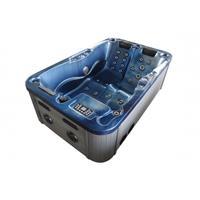 Badstuber Modena outdoor whirlpool 3-persoons blauw