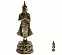 Spiru Minibeeldje Boeddha Verjaardag Vrijdag - 6 cm