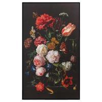 Reinders Schilderij Stilleven met bloemen - multikleur - 118x70 cm