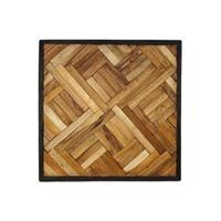 HSM Collection wandpaneel Kyros - naturel - 60x60 cm