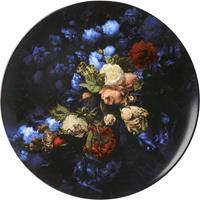 Heinen Wandborden - Stilleven met bloemen 42cm