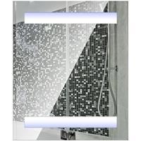 HOMCOM Spiegelkast met LED verlichting 60 x 50 x 15cm
