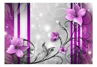 Artgeist Violet Buds Vlies Fotobehang 100x70cm