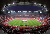 Wizard+Genius FC Bayern München Choreo Fotobehang 366x254cm 8-banen