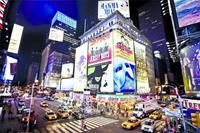 Papermoon New York Time Square Vlies Fotobehang 250x180cm