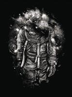 Wizard+Genius Lost in Cosmic Shades Vlies Fotobehang 192x260cm 4-banen