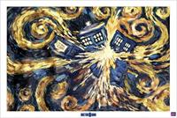 Pyramid Doctor Who Exploding Tardis Poster 91,5x61cm