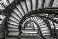 Wizard+Genius Old Stairs Vlies Fotobehang 384x260cm 8-banen