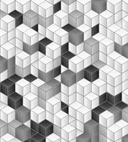 Dimex Cube Blocks Vlies Fotobehang 225x250cm 3-banen