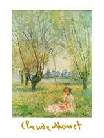PGM Claude Monet - Donna sotto i salici Kunstdruk 60x80cm