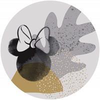 Komar Minnie Loop Art Zelfklevend Fotobehang 125x125cm rond