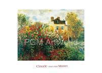 PGM Claude Monet - The Artist's Garden Kunstdruk 70x50cm
