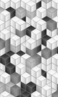 Dimex Cube Blocks Vlies Fotobehang 150x250cm 2-banen