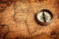 Dimex Compass Vlies Fotobehang 375x250cm 5-banen