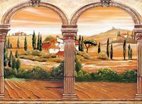 Papermoon Toscaanse Bogen Vlies Fotobehang 350x260cm
