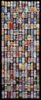 Papermoon American Beer Cans Vlies Fotobehang 90x200cm