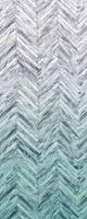 Komar Herringbone Mint Vlies Fotobehang 100x250cm 1-baan