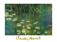 PGM Claude Monet - Ninfee dell'Orangerie Kunstdruk 80x60cm