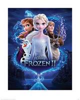 Pyramid Frozen 2 Magic Kunstdruk 40x50cm