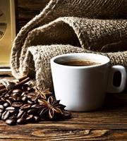 Dimex Cup of Coffee Vlies Fotobehang 225x250cm 3-banen