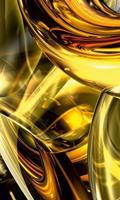 Dimex Golden Wires Vlies Fotobehang 150x250cm 2-banen