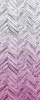 Komar Herringbone Pink Vlies Fotobehang 100x250cm 1-baan