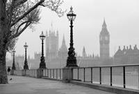 Wizard+Genius London Fog Vlies Fotobehang 384x260cm 8-banen