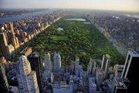 Papermoon Central Park Uitzicht Vlies Fotobehang 350x260cm