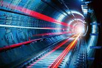 Dimex Tunnel Vlies Fotobehang 375x250cm 5-banen