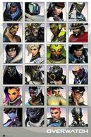 GBeye Overwatch Character Portraits Poster 61x91,5cm