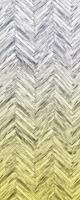 Komar Herringbone Yellow Vlies Fotobehang 100x250cm 1-baan