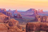 Papermoon Hunts Mesa Zonsopgang Vlies Fotobehang 350x260cm