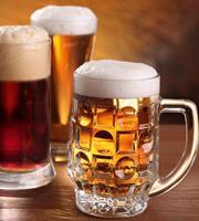Dimex Beer Mugs Vlies Fotobehang 225x250cm 3-banen