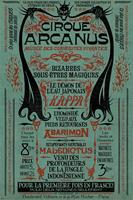 Pyramid Fantastic Beasts the Crimes of Grindelwald Le Cirque Arcanus Poster 61x91,5cm