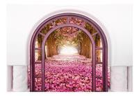 Artgeist Door To The Magic Land Vlies Fotobehang 100x70cm