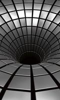 Dimex Silver Hole Vlies Fotobehang 150x250cm 2-banen