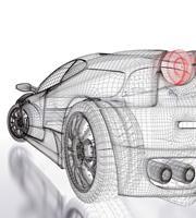 Dimex Car Model Light Vlies Fotobehang 225x250cm 3-banen