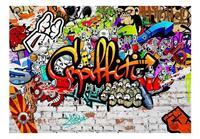 Artgeist Colorful Graffiti Vlies Fotobehang 200x140cm