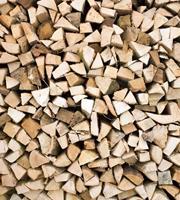 Dimex Timber Logs Vlies Fotobehang 225x250cm 3-banen