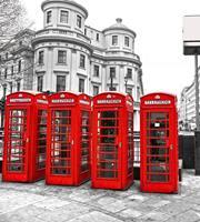 Dimex London Vlies Fotobehang 225x250cm 3-banen