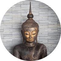 Wizard+Genius Thailand Buddha Vlies Fotobehang 140x140cm rond