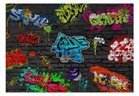 Artgeist Graffiti Wall Vlies Fotobehang 100x70cm