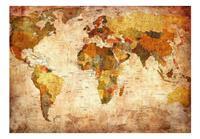 Artgeist Old World Map Vlies Fotobehang 200x140cm