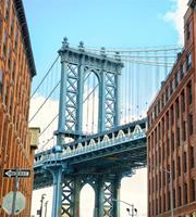 Dimex Manhattan Bridge Vlies Fotobehang 225x250cm 3-banen