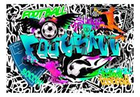 Artgeist Sports Graffiti Vlies Fotobehang 100x70cm
