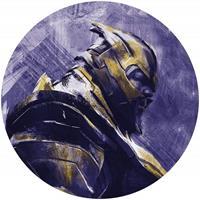 Komar Avengers Painting Thanos Zelfklevend Fotobehang 125x125cm rond