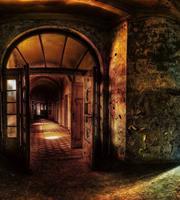 Dimex Hallway Vlies Fotobehang 225x250cm 3-banen